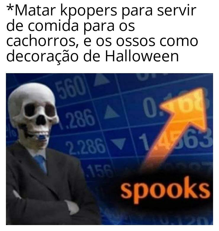 Spooky spooky skeleton♪ - meme
