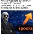 Spooky spooky skeleton♪