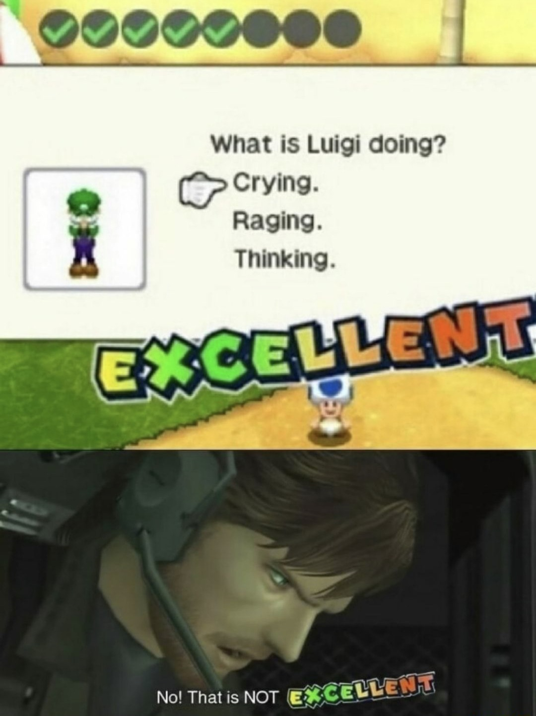 Poor Luigi ): - meme