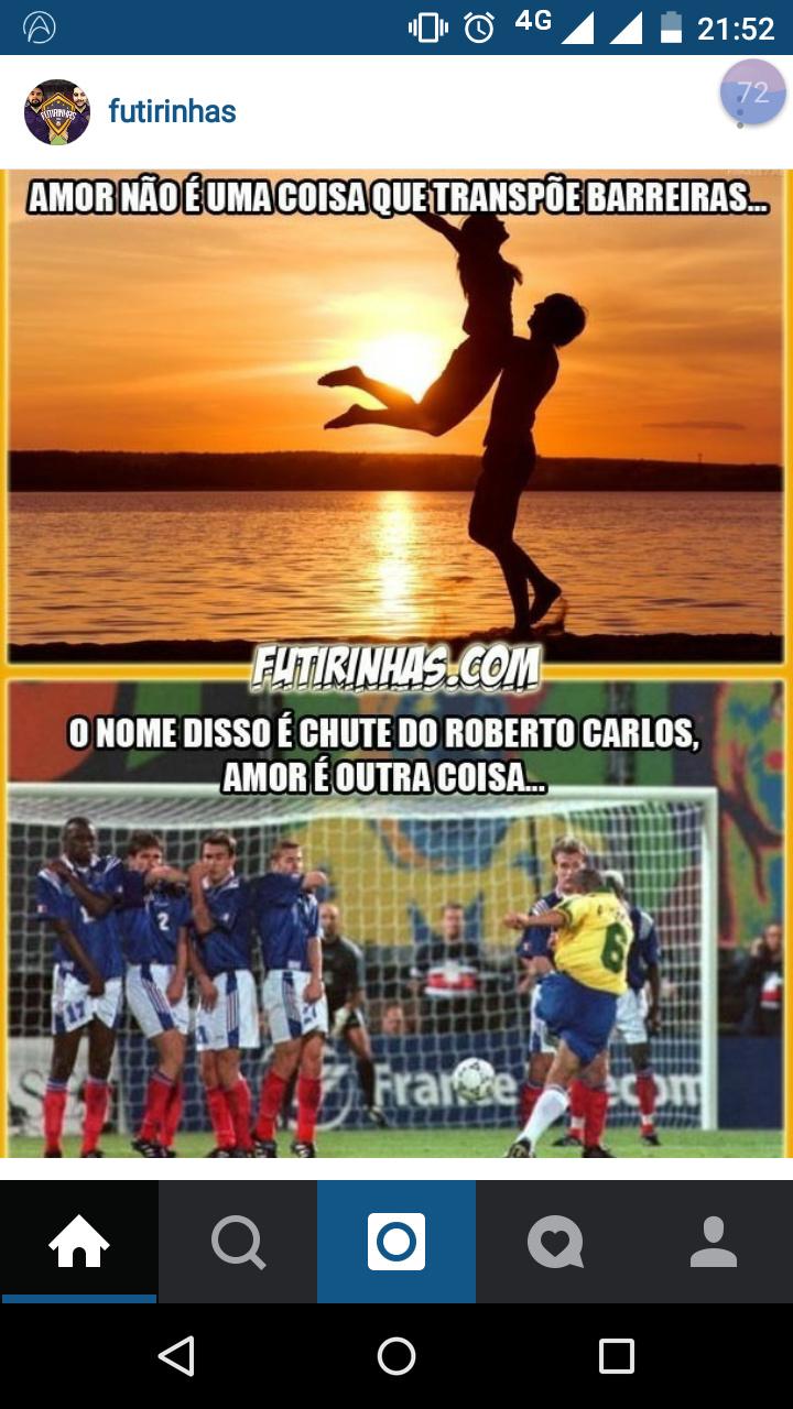 """Roberto """"Mito"""" Carlos transpondo """"altas"""" barreiras! Ba dum tssss!! - meme"""