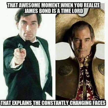 Doctor 007 - meme