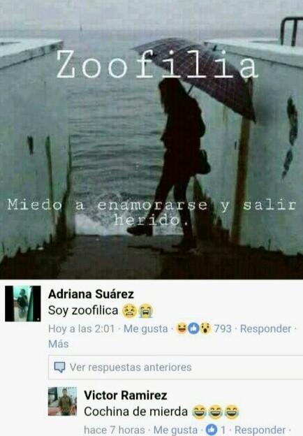 Zoofilia - meme