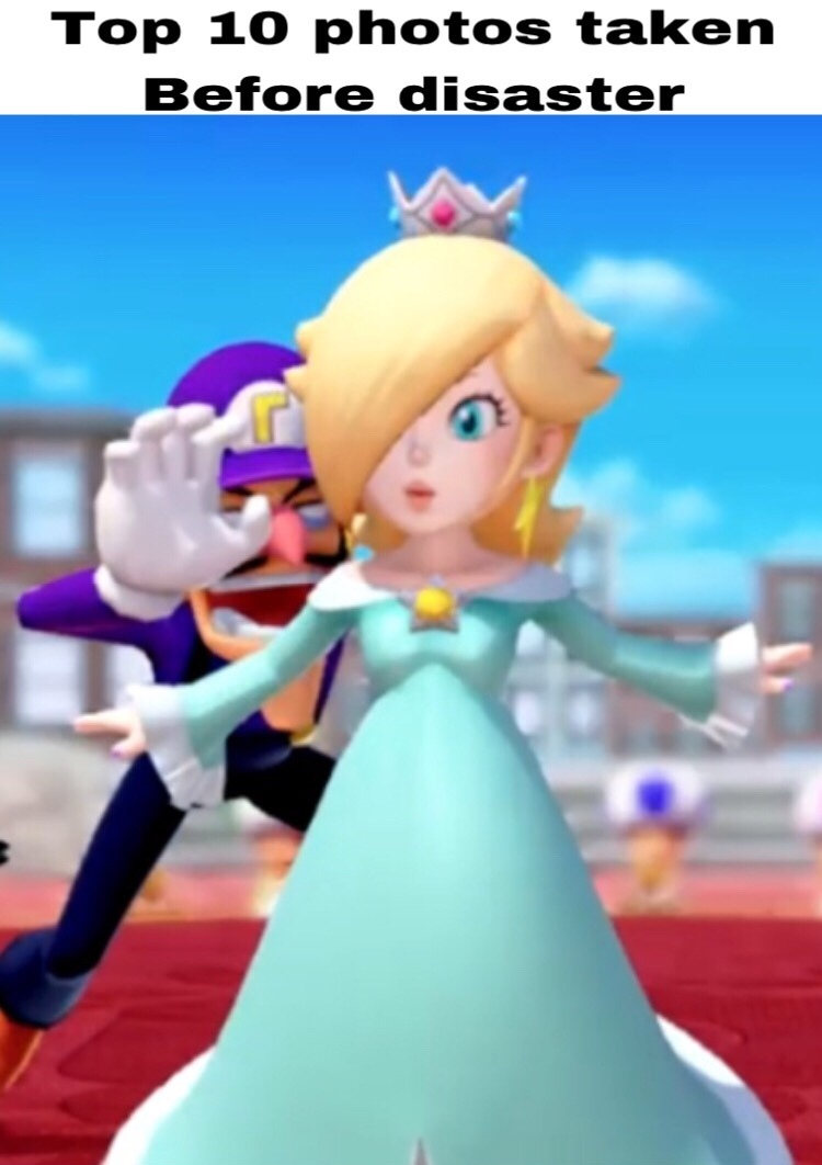 image from caddicarus super Mario party review - meme