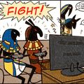 EGYPTIAN GODS ARE NOT FURRIES SO STOP SENDING PORN OF THEM!!!