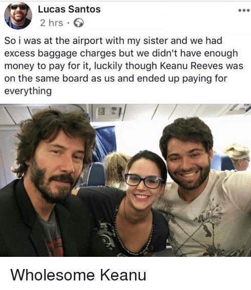 wholesome Keanu - meme
