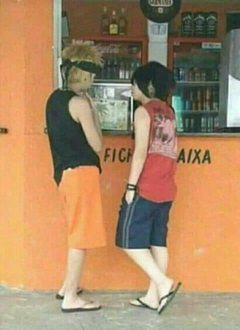El camino ninja a la tienda - meme