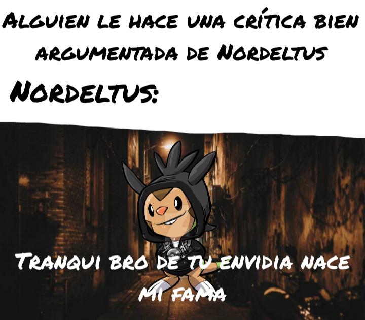Chespin gotico - meme