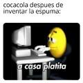 COCACOLA ESPUMA