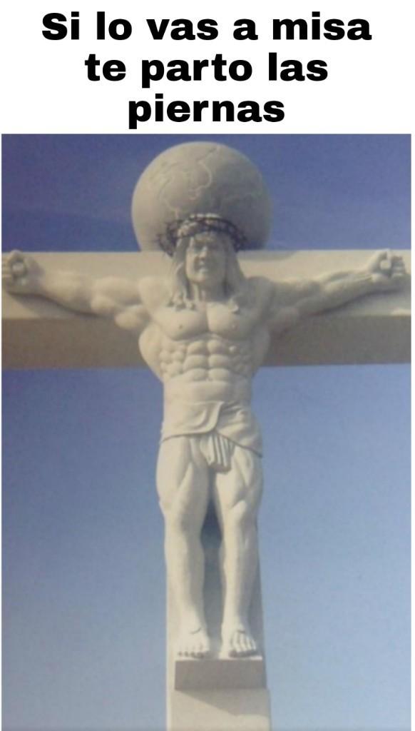 Jesucristo mamado - meme
