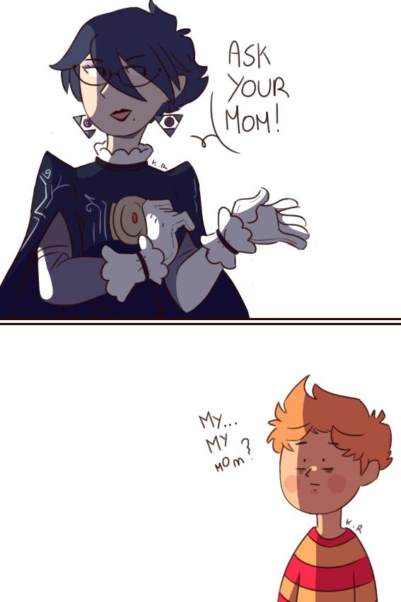 Que se sentira en la cabeza del traumado Lucas ver a su madre descuartizada por un mechadrago. - meme