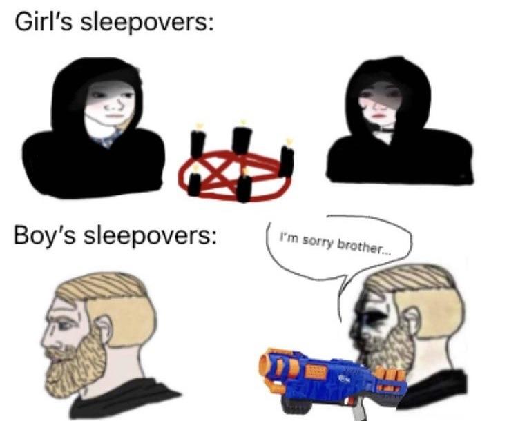 nerf or nothing - meme