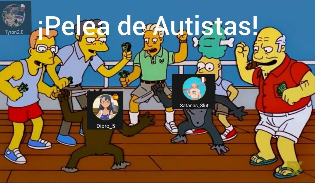 Tremendo autista el Satanas_Slut. - meme