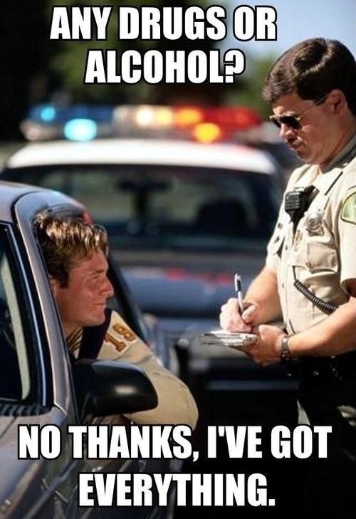 Thanks, Officer! - meme