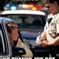 Thanks, Officer!
