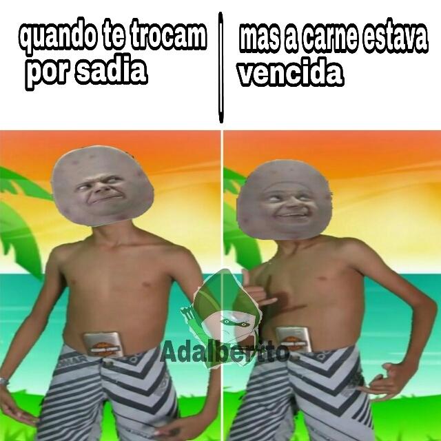A vingança de Luís Augusto - meme