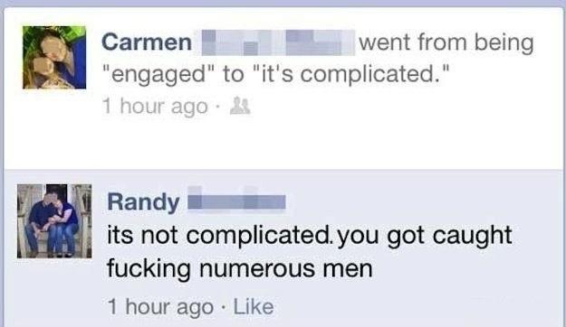 You tell her Randy - meme