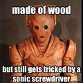 Doctor who wooden cyberman