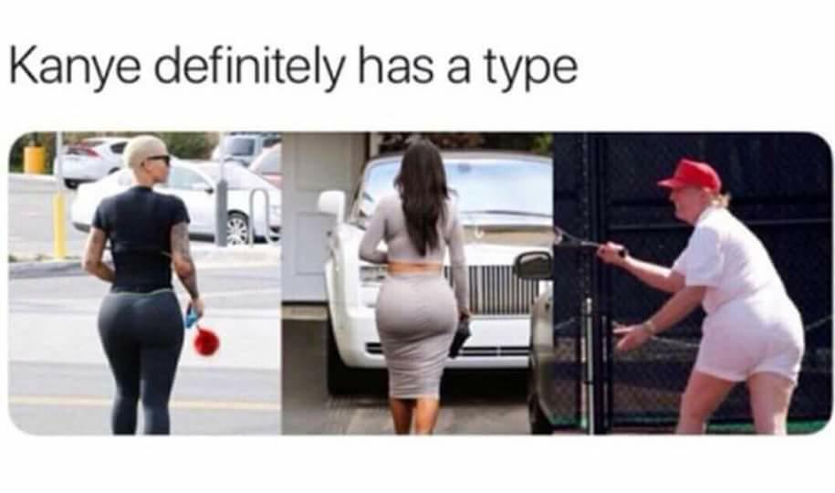 Kanye has a type - meme