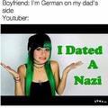 I dated a nazi