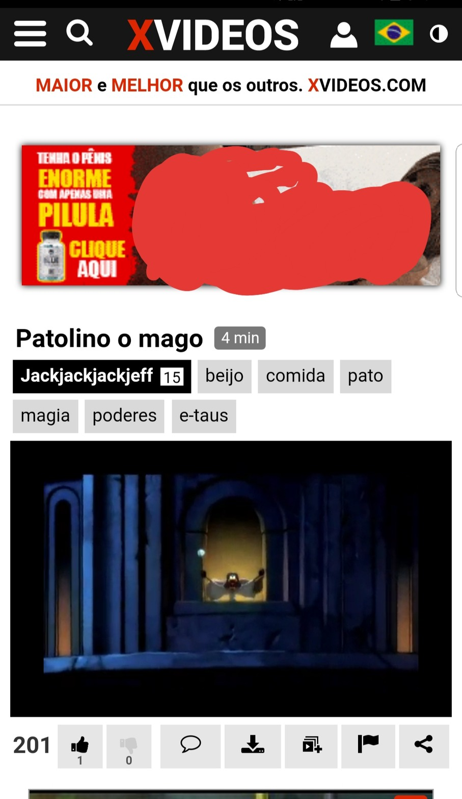 O mago é implacável! - meme