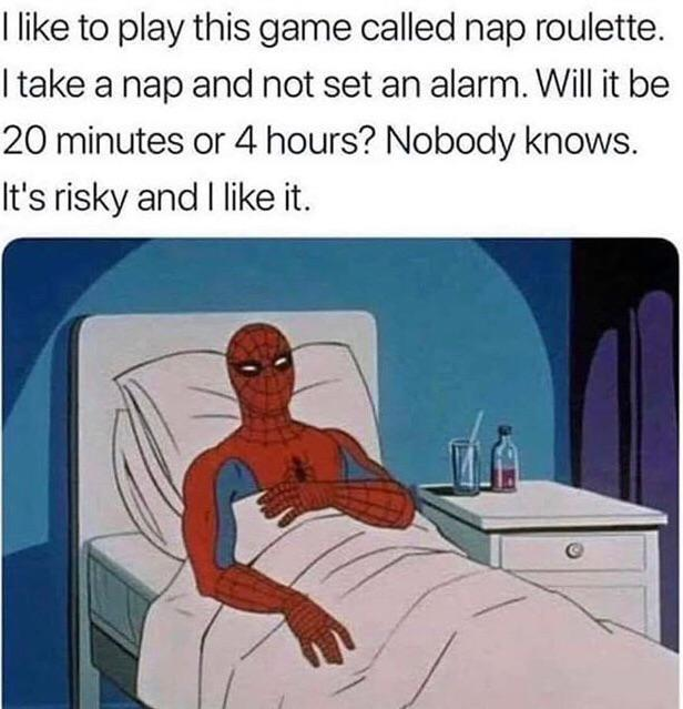 Nap roulette boys - meme