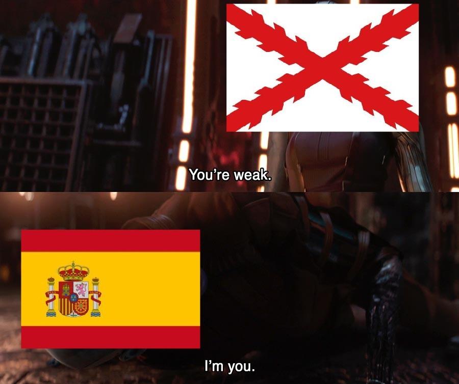 ¡ARRIBA ESPAÑA! - meme
