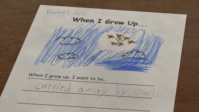 When I grow up I want to be... - meme