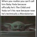 """Technically """"Mando"""" is an inaccurate nickname because that's not how you spell Mandalorian in this essay I will"""