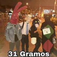 31 gramos - meme