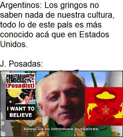 J. Posadas, un capo. - meme