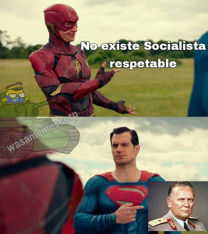 Así es, Tito, el único zurdo que no se la chupo a Stalin - meme