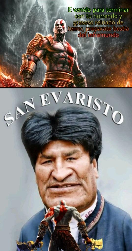 Kratos vencerá a Thiagopederasta :D - meme