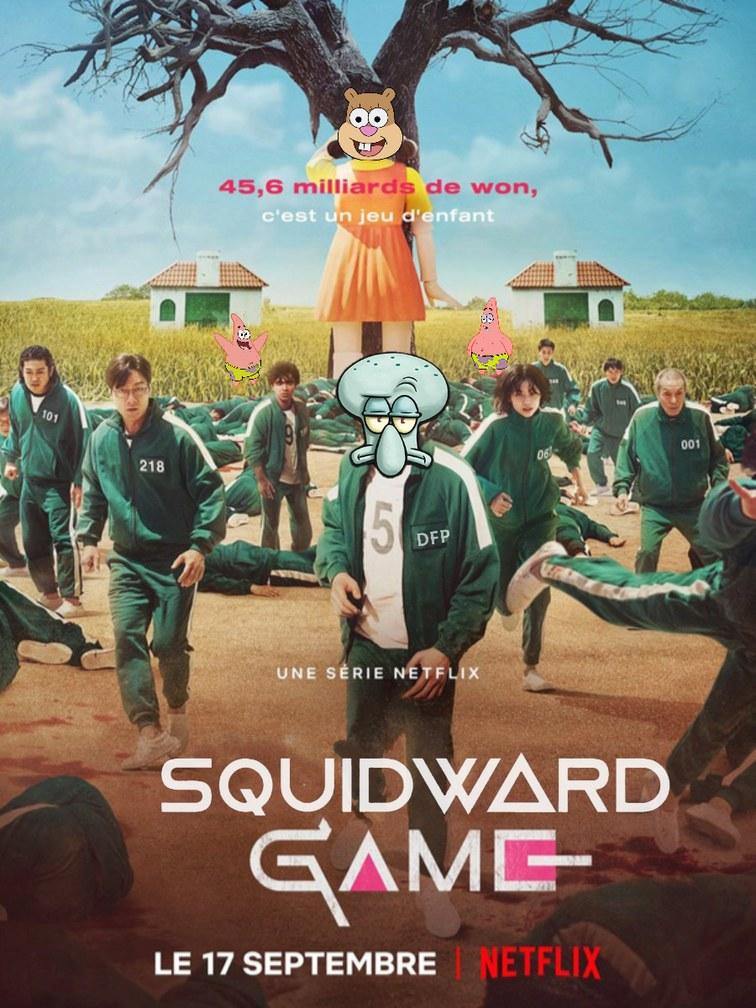 SQUIDWARD GAME - meme