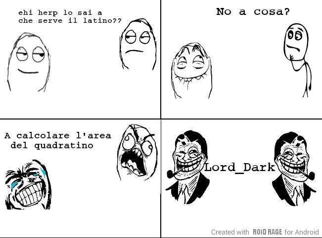 Latino infame traduci la versione e per te solo lame - meme