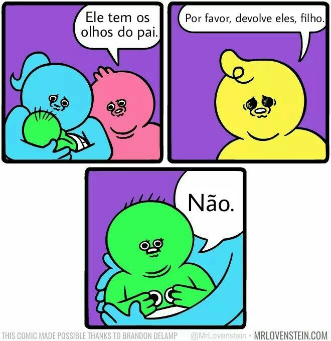 Azul+amarelo=verde - meme