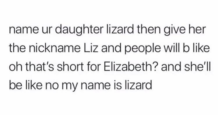 Elizardbeth - meme