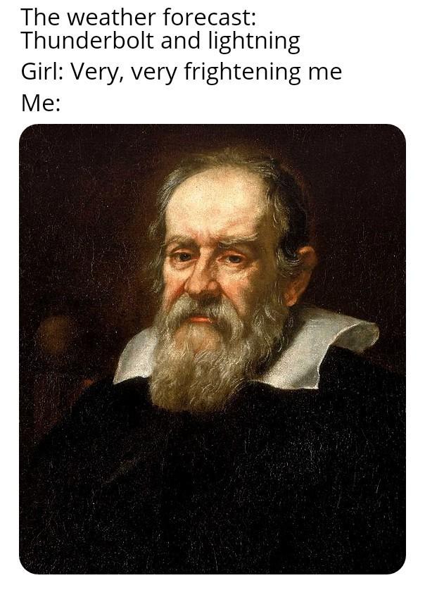 Galileo - meme