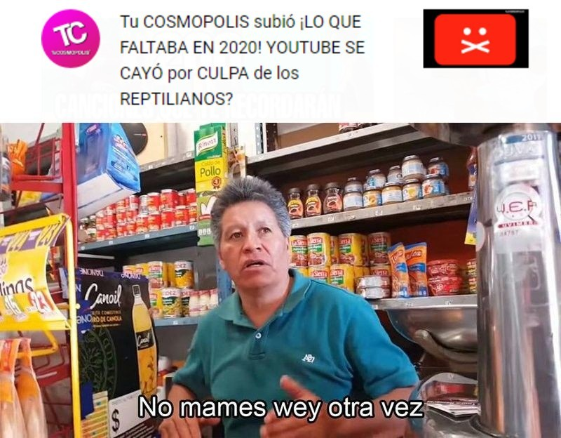 puto tu cosmopolis - meme