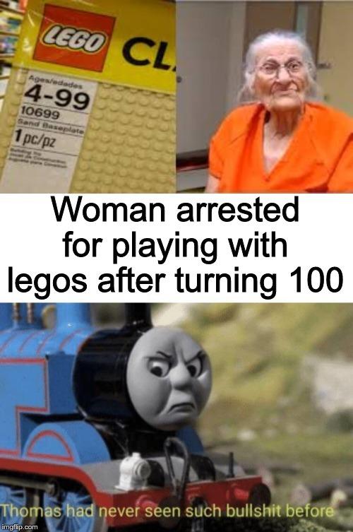 Poor grandma... - meme