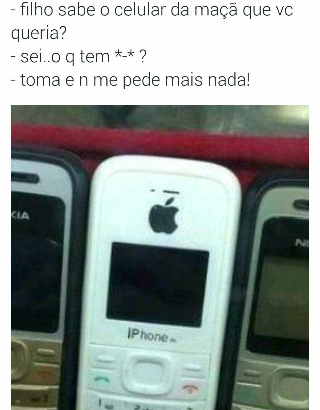 Da maçã - meme