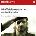 RIP Net Neutrality 2015 - 2018