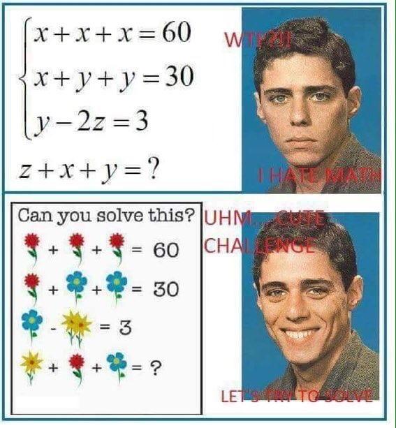 math is horrible - meme