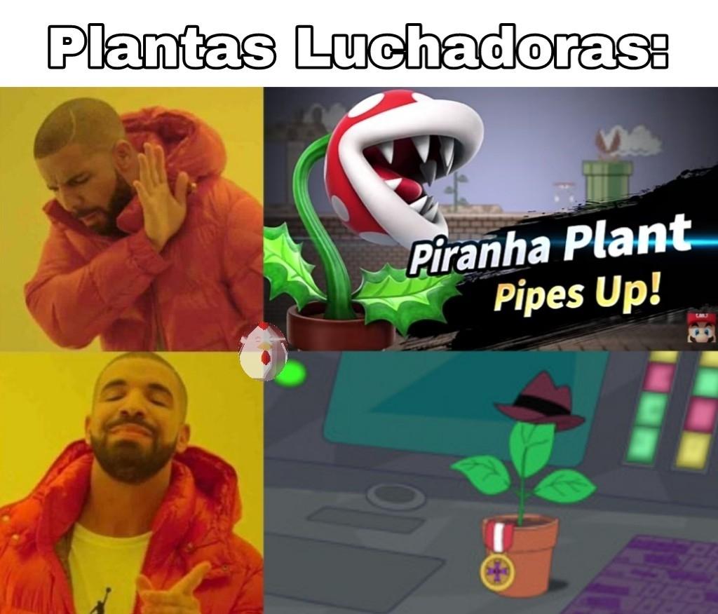 Planty la maceta - meme