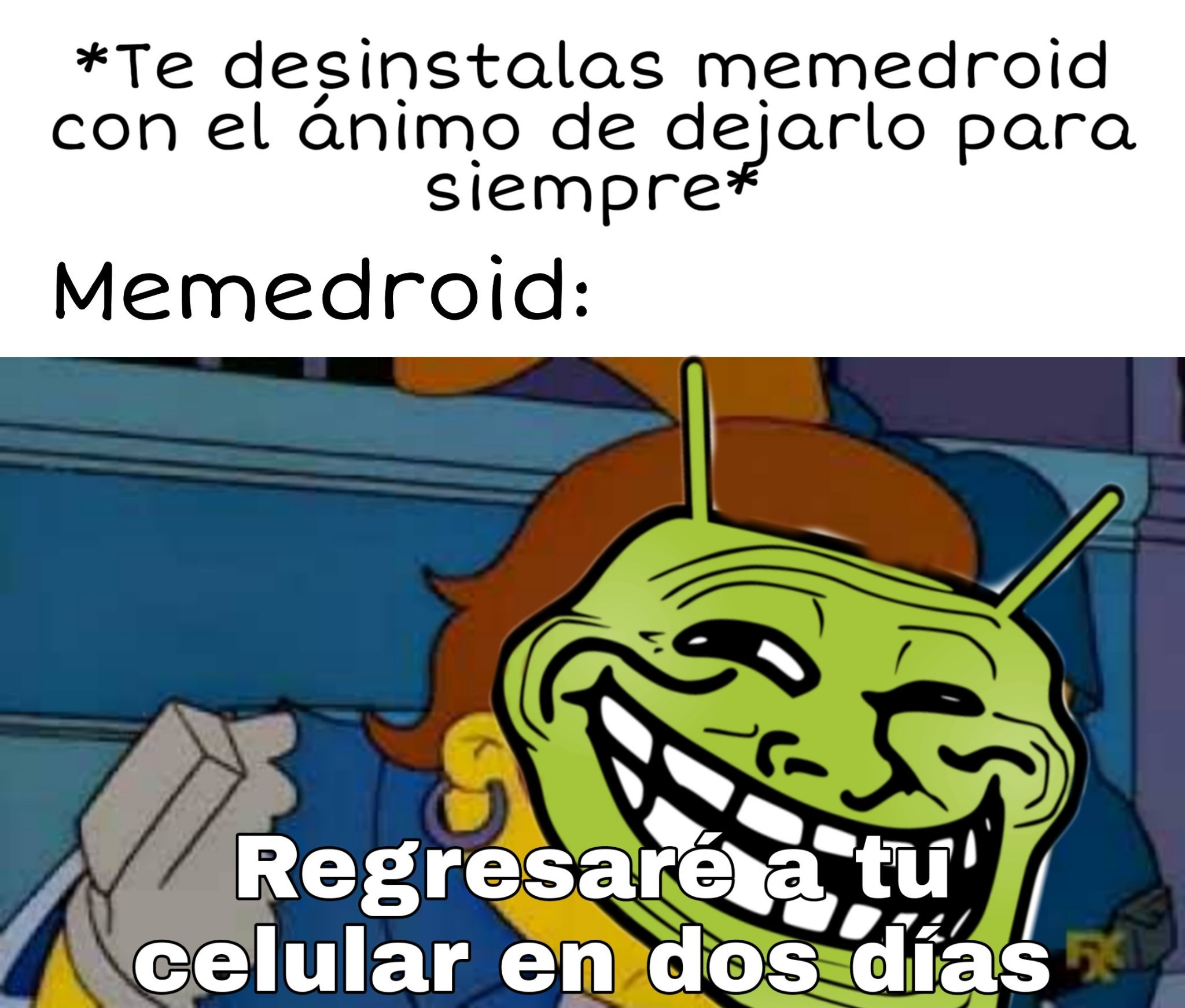 La wea adictiva - meme