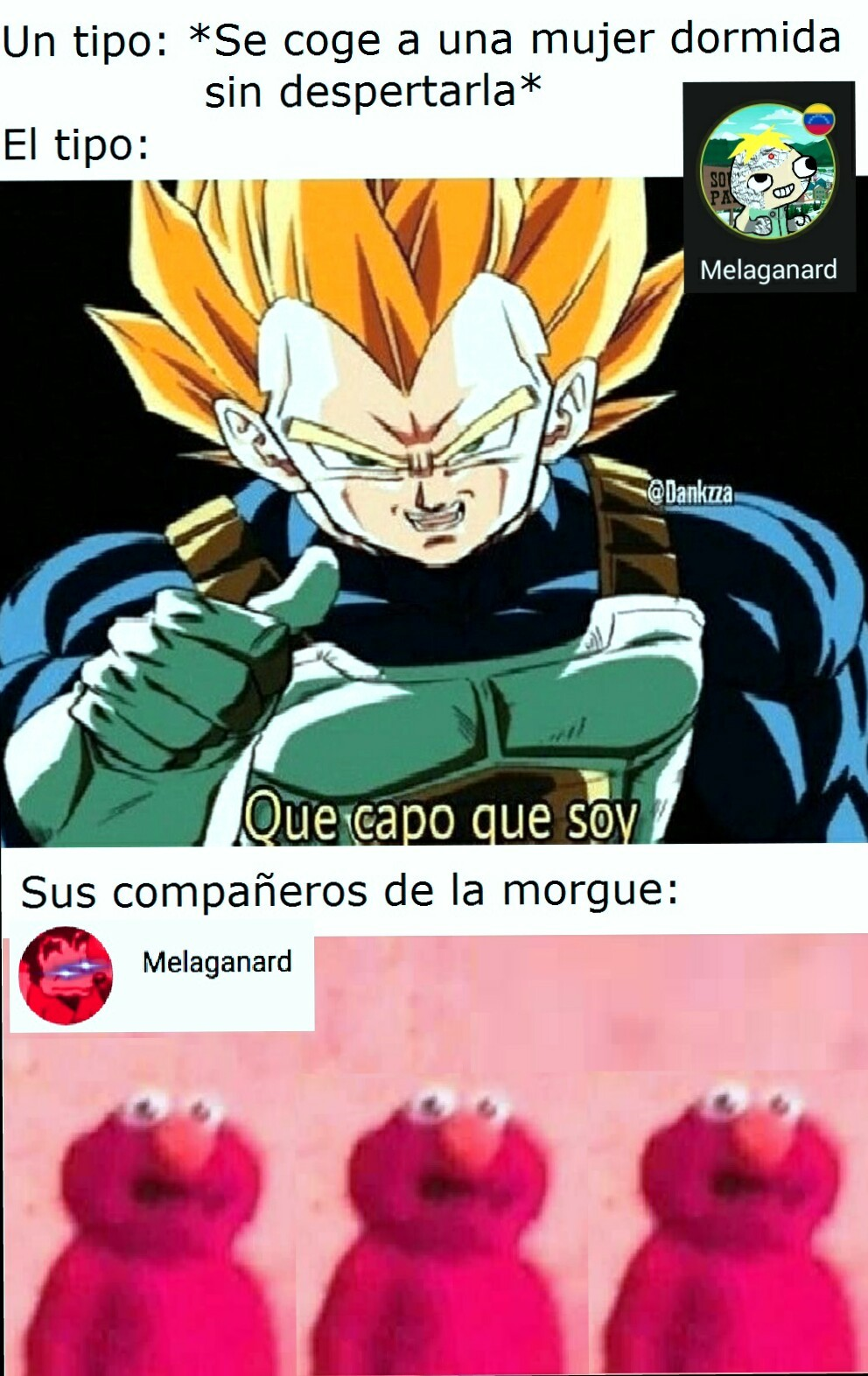 No, vegeta, tu no - meme