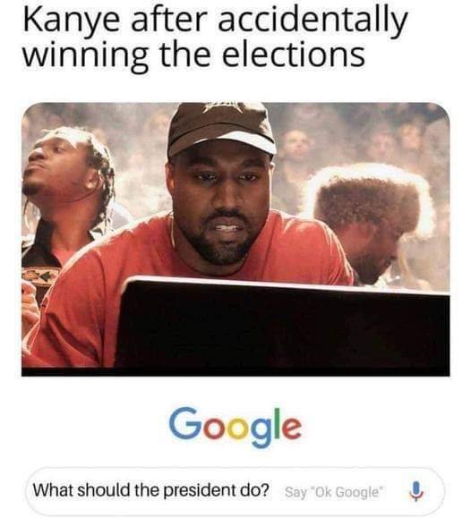 Kanye 2020 - meme