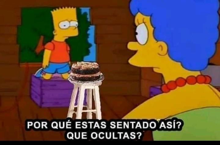 Noooooo Bart - meme