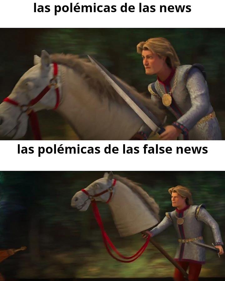 False news - meme