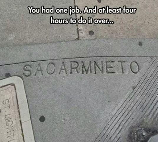 Sacramento - meme