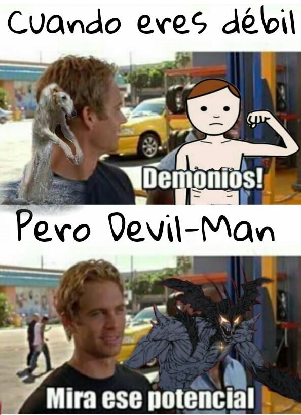 Jajaja es devil - meme